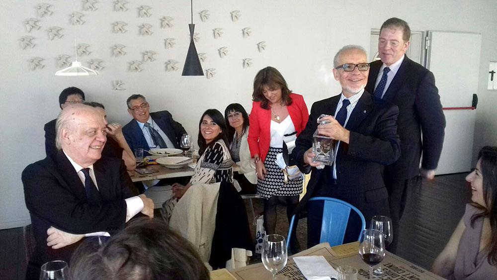 Almoço Casa de España – Despedida Guillermo