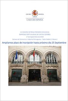 XV Edição Entrega Prémios Excelência às Empresas Portuguesas de Capital Espanhol