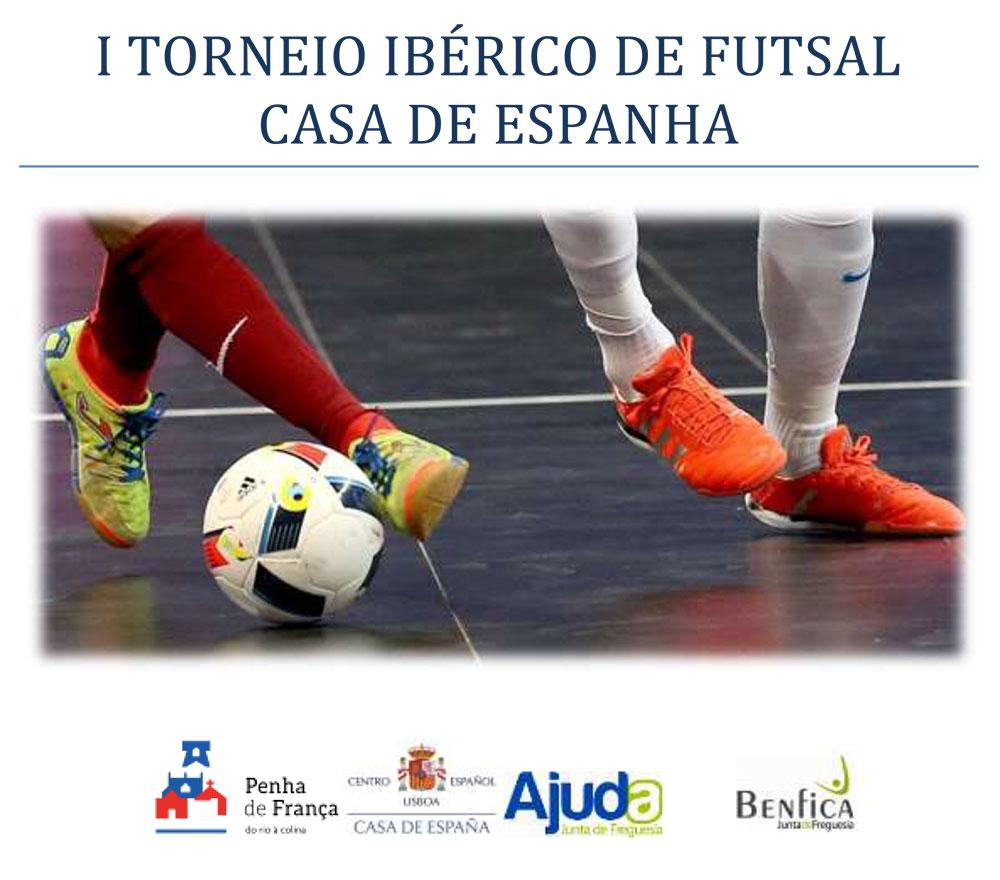 I Torneio Ibérico de Futsal – Casa de Espanha